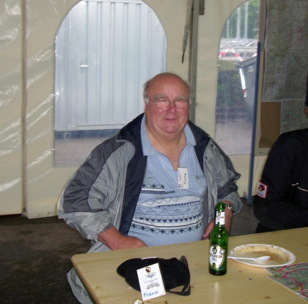 Auf dem Treffen in Heidelberg 2009